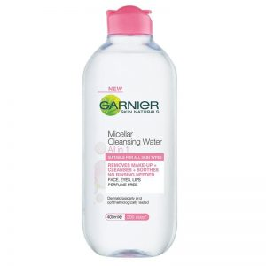 garnier cleansing water