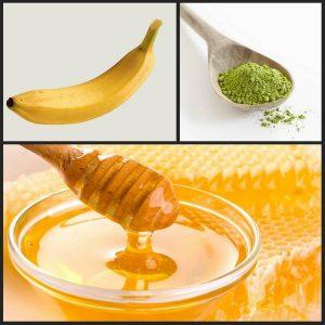 honey and banana