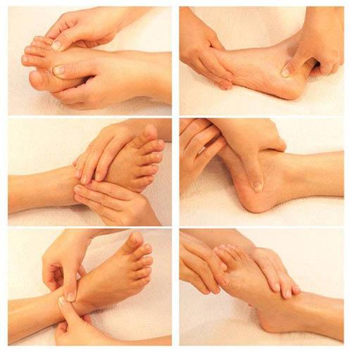 massage chân cải thiện tuần hoàn máu