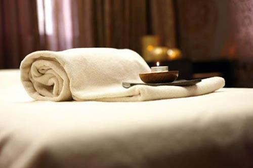 công đoạn chuẩn bị massage toàn thân