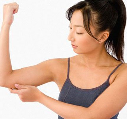 reduce biceps by simple movements