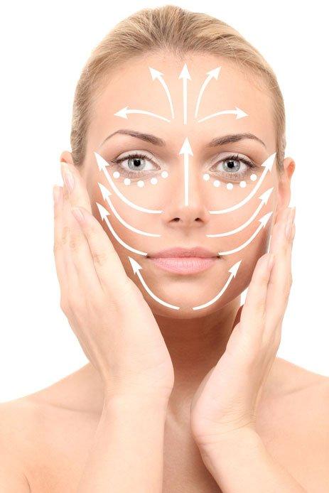 Bước 3: Massage mặt