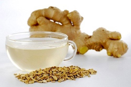 what does ginger wine use in belly massage fat?
