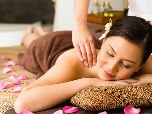 thư giãn sau liệu trình massage toàn thân