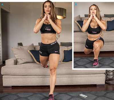 work out at home with squat helps to muscle tone effective