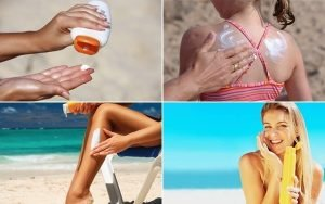 Sunscreen and all things keep in mind