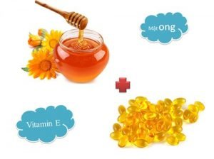 honey and vitamin e effectively reduce dark circles under the eyes