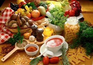 Chế độ ăn uống lành mạnh, tăng cường nhiều rau xanh