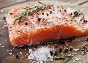 fish - rich in dha to enhance memory