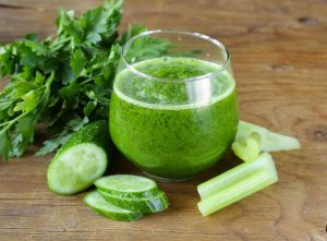 celery, lemon and ginger juice - lose weight fast in a week